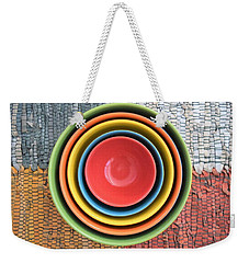 Kitchen Rainbow Weekender Tote Bag
