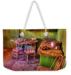 Kitchen Table Bodie California Weekender Tote Bag