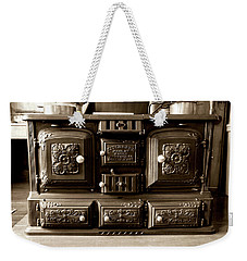 Weekender Tote Bag featuring the photograph Kitchener by Greg Fortier
