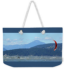 Kite Surfer Weekender Tote Bag