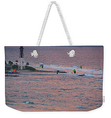 Kiteboarding At Hillsboro Weekender Tote Bag