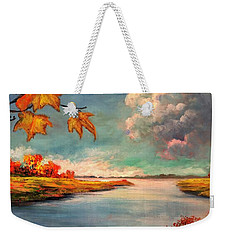 Kites, Clouds And Sailboats Weekender Tote Bag