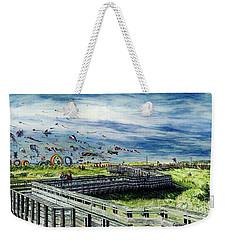 Kites Galore Weekender Tote Bag