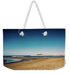 Kitesurf On The Beach Weekender Tote Bag