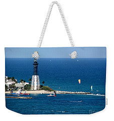 Kitesurfing And More At Pompano Weekender Tote Bag