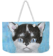Kitten With Three Clouds Weekender Tote Bag