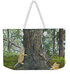 Kitties Weekender Tote Bag