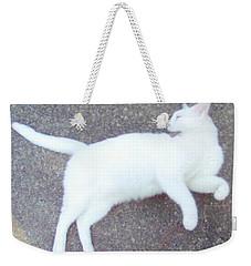 Kitty Ballet Weekender Tote Bag