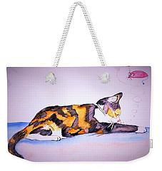 Kitty Cat Weekender Tote Bag