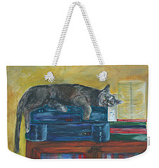 Kitty Comfort Weekender Tote Bag