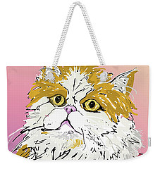 Kitty In Tuna Can Weekender Tote Bag