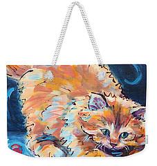 Kitty Keepsies Weekender Tote Bag