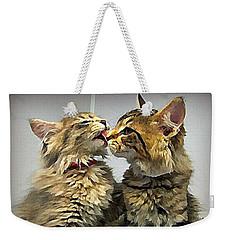 Kitty Kisses Weekender Tote Bag