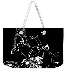 Kitty-kitty Weekender Tote Bag by Mayhem Mediums