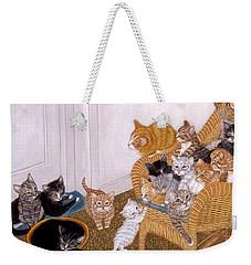 Kitty Litter II Weekender Tote Bag