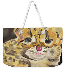 Bright Eyes Weekender Tote Bag