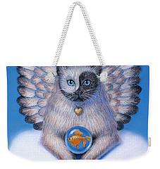 Kitty Yin Yang- Cat Angel Weekender Tote Bag