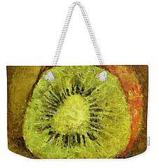 Kiwifruit Weekender Tote Bag
