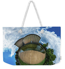 Kleinhans Music Hall At  Symphony Circle - Tiny Planet Weekender Tote Bag