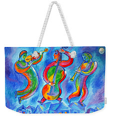 Klezmer On The Roof Weekender Tote Bag