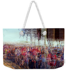 Weekender Tote Bag featuring the photograph Klipsch by Cathy Donohoue