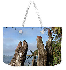 Knees Weekender Tote Bag by Steve Sperry