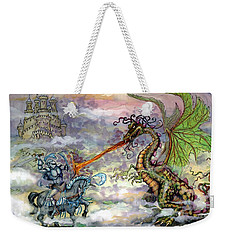 Knights N Dragons Weekender Tote Bag