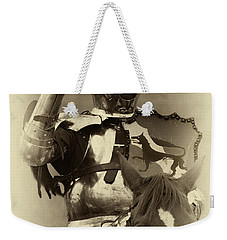 Knights Of Old 16 Weekender Tote Bag by Bob Christopher