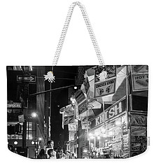 Knish, New York City  -17831-17832-bw Weekender Tote Bag