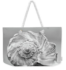 Weekender Tote Bag featuring the photograph Knobbed Whelk by Benanne Stiens