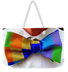 Knotted Spectrum Weekender Tote Bag