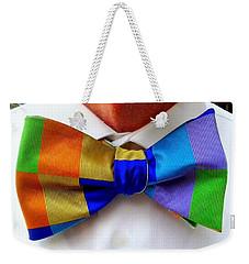 Knotted Spectrum Weekender Tote Bag