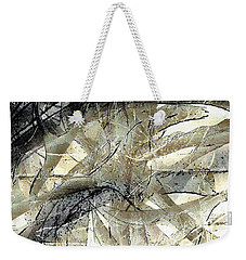 Weekender Tote Bag featuring the painting Knotty by Vicki Ferrari