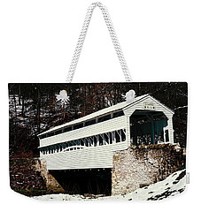 Knox Covered Bridge Historical Place Weekender Tote Bag