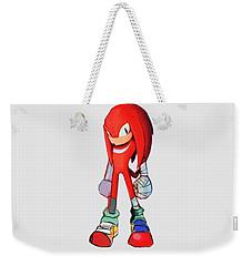 Knuckles Sketch Weekender Tote Bag