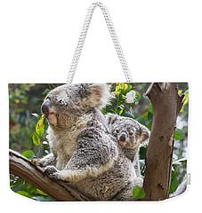 Koala Joey On Mom Weekender Tote Bag by Jamie Pham