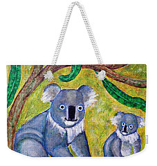Koala Sunrise Weekender Tote Bag by Sarah Loft