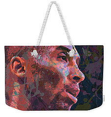 Weekender Tote Bag featuring the painting Kobe by Richard Day