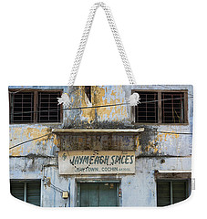 Weekender Tote Bag featuring the photograph Kochi Spices by Marion Galt