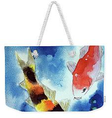 Koi Fish 4 Weekender Tote Bag