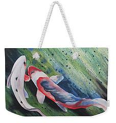 Koi II Weekender Tote Bag