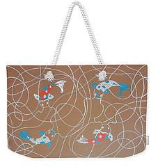 Koi Koi Weekender Tote Bag by Kruti Shah