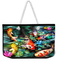 Koi Paradise Weekender Tote Bag