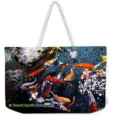 Koi Pond At Paris Aquarium Weekender Tote Bag