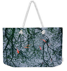 Koi Reflections Weekender Tote Bag