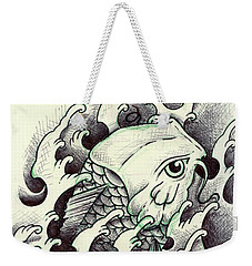 Koi Through The Water Weekender Tote Bag