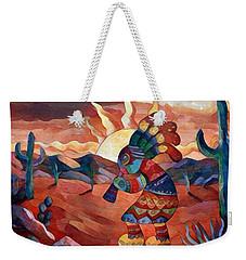Kokopelli A Weekender Tote Bag