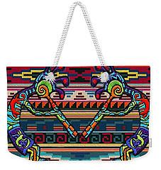 Kokopelli Art Weekender Tote Bag