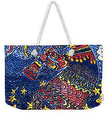 Kokopelli Mosaic Weekender Tote Bag