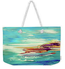 Weekender Tote Bag featuring the painting Kokovoko by Tatiana Iliina
